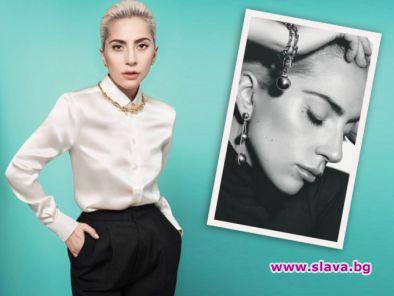 Гага е новото рекламно лице на Tiffany & Co