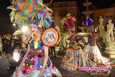Долче и Габана представят своята Алта Мода в Палермо