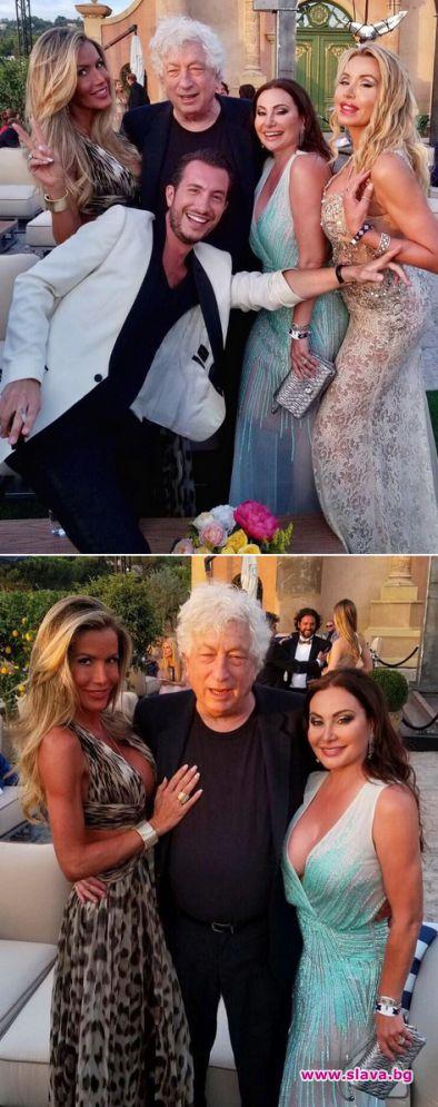 Дарина Павлова и Спас Русев заедно на купон с ди Каприо