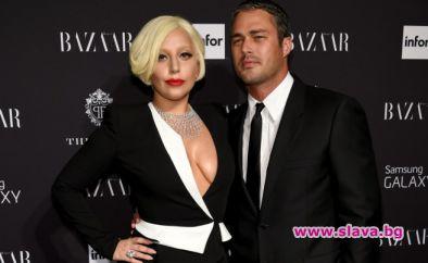 Лейди Гага и Тейлър Кини се срещат