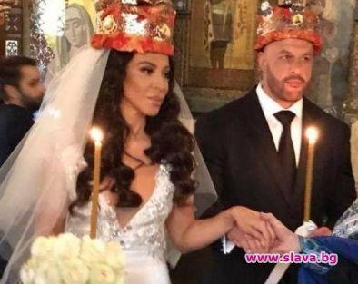 Сватбата на Маги Желязкова удари 100 бона