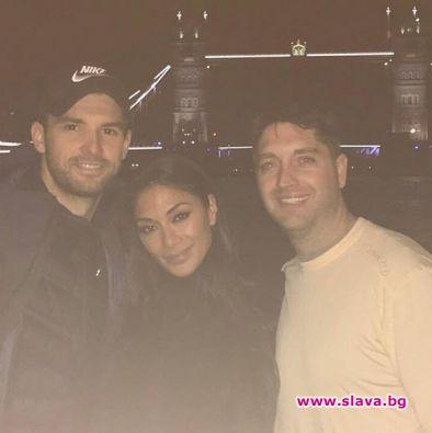 Григор и Никол заедно в Лондон