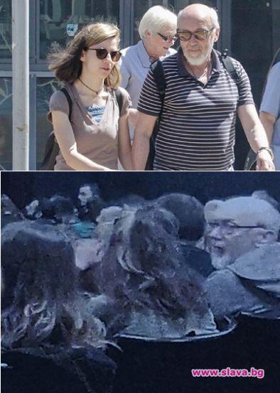 Стоян Алексиев заведе младата си любовница на театър