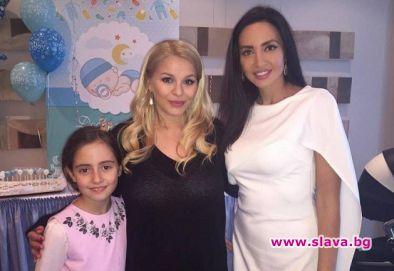 Наталия Гуркова ориса бебето на Деси Слава