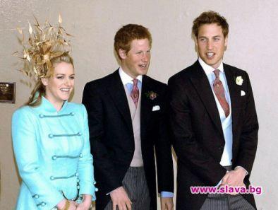 Ето я и русата чаровница Лора - доведената сестра на принцовете Уилям и Хари