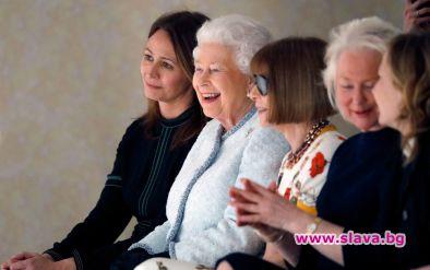 Кралицата с изненадващо посещение на Седмицата на модата в Лондон