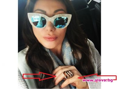 Дарина Павлова с пръстен за 500 хиляди