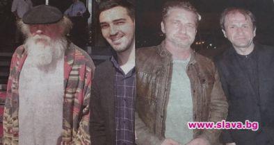Джерард Бътлър доведе Ник Нолти в София