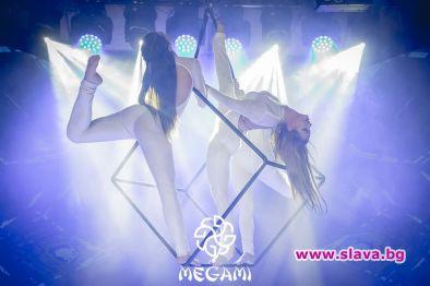 Акробатично шоу на въздушен куб за първи път в бг заведение