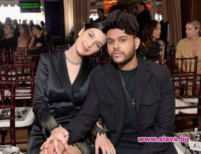 Бела Хадид щастлива до The Weeknd