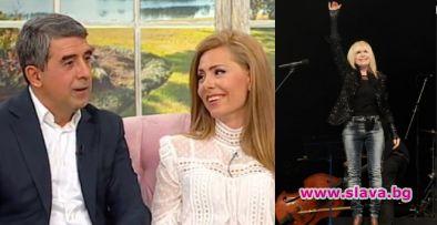 Лили Иванова отказа да пее на сватбата на Плевнелиев и Банова