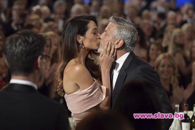 Вечерта на Джордж Клуни
