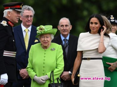 Елизабет II и Меган Маркъл са в Чешър за първия си общ кралски ангажимент
