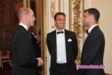 Григор Димитров се срещна с принц Уилям