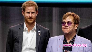 Елтън Джон и принц Хари ще борят СПИН-а