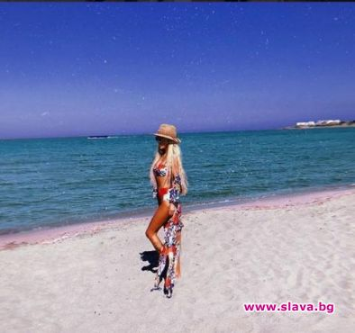 Светлана и Гущеров на меден месец в Гърция