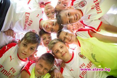 Хотел Чайка посрещна малките таланти от Milan Academy Junior Camp