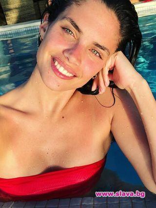 Сара Сампайо страда от трихотиломания