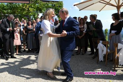Танцът на Путин с булката