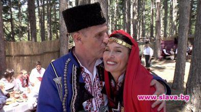 Бен Крос се ожени в Жеравна
