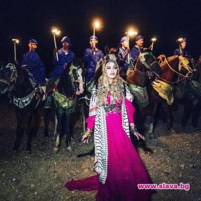 Мадона пръснала над 460 хил. паунда в хотела в Мароко