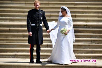 Излагат сватбеното облекло на Хари и Меган