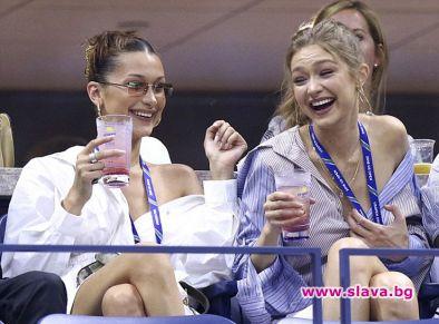 Джиджи и Бела на US Open