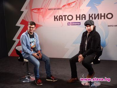Сашо Кадиев разговаря с Даниел Портман от Игра на тронове