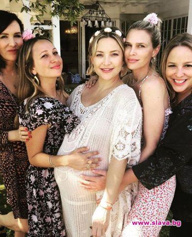 Кейт Хъдсън роди момиченце
