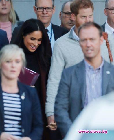 Меган и Хари в Австралия, и пак са ръка за ръка