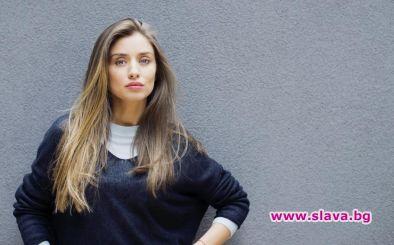 Саня Борисова с приз от фест в Италия