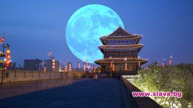Китай пуска фалшива луна, за да намали разходите за енергия