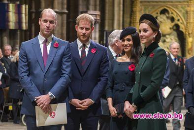 Кейт, Меган и принцовете им