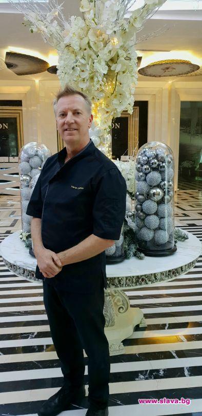 Мартин Шифърс -  шоколатиер номер едно гост на хотел Marinela Sofia