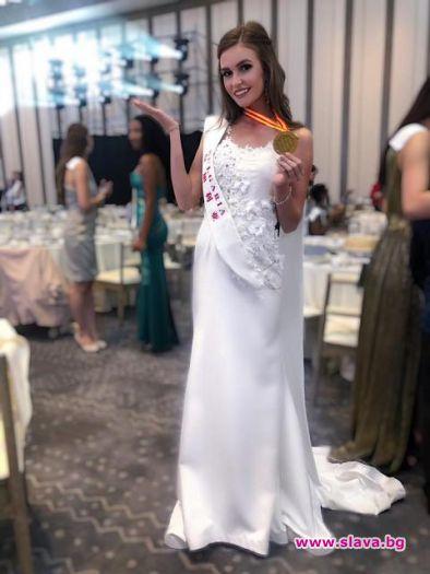 Габриела Топалова със заявка за място в челната десетка на Мис Вселена