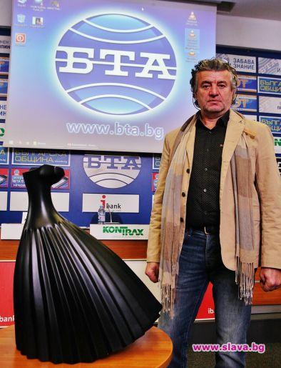 Живко Седларски с премиера на БГ модна икона