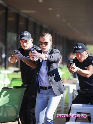Секси полицайка: Дария Симеонова с ново амплоа