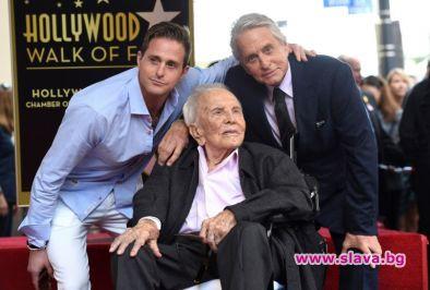 Кърк Дъглас на 102 г.: Благодарен съм за всичко, което получих