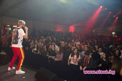 Криско, Тита и СкандаУ пяха пред 3000 души