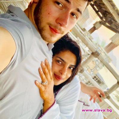 Приянка и Ник на мини меден месец