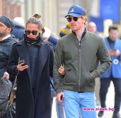 Алисия и Майкъл на шопинг из Ню Йорк