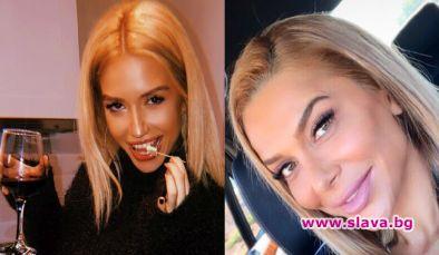 Тита стана копие на чалга певицата Бони