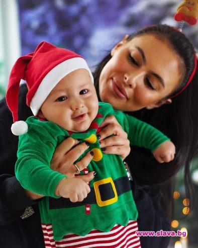 Как звездите прекараха Коледа