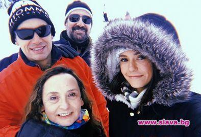 Нина Добрев качи семейството си на Витоша