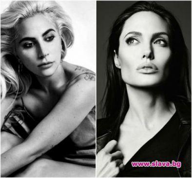 Лейди Гага и Анджелина Джоли в битка за ролята на Клеопатра