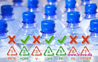 Водата в пластмасовите бутилки съдържа 25 000 химикала