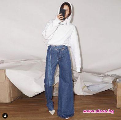 Асиметрични дънки станаха хит