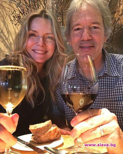 Мишел Пфайфър отпразнува 25 години щастлив брак
