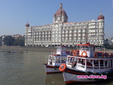 Taj Mahal Palace Hotel e сърцето на Бомбай
