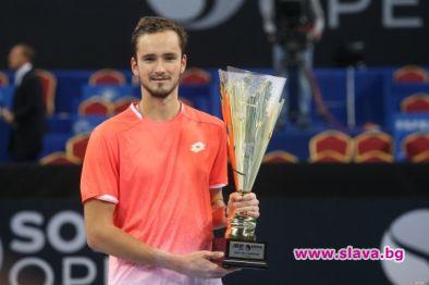Медведев е шампионът на София Оупън '19